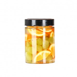 100ml to 500ml food storage jar with lid glass jar
