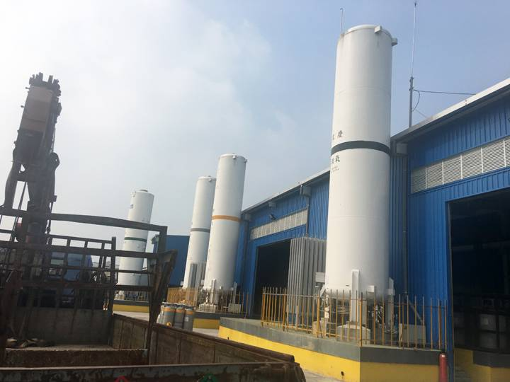 Manufactur standard Cryogenic Vaporizing Equipment -