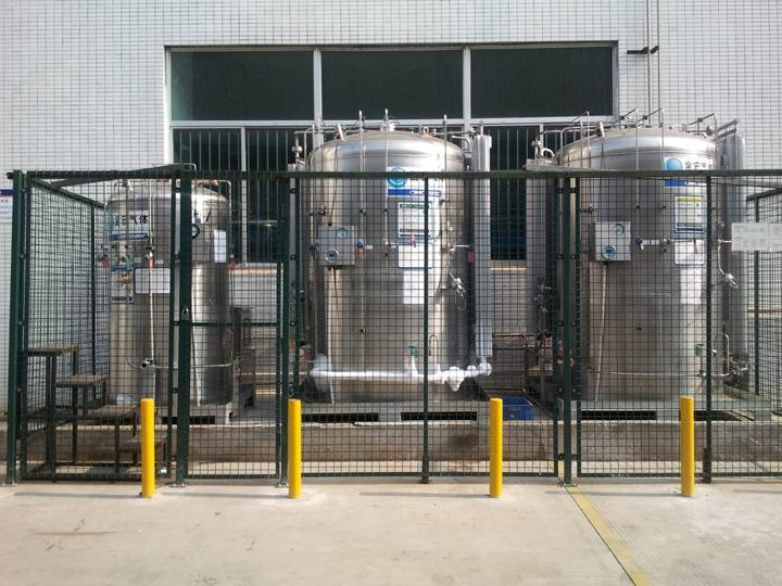 Quality Inspection for Industrial Nitrogen -