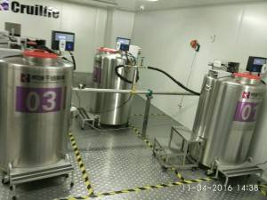 Factory Supply Cryogenic Smple Storage -