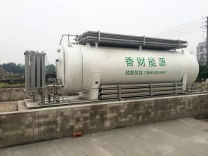 China Supplier Cryogenic Bulk Storage Tanks -