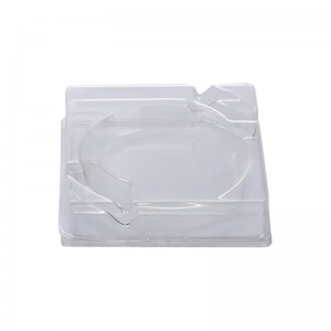 High Quality Jewelry Pack Box Plastic Transparent Storage -