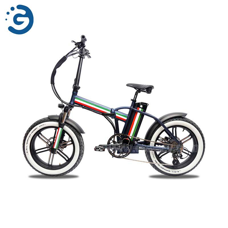 Chinese Factory F20 48V 750W REAR-DRIVE Fat Tyres Electric Bike Featured Image