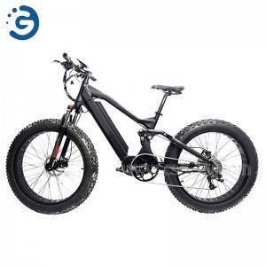 Chinese Factory CAVALIERE 48V 350W-1000W Fat Tyres Electric Bike