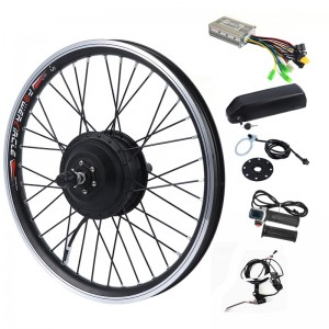 250W-1000W Rear-drive electric bicycle conversion kit with DP5C Lithium Battery & LED880