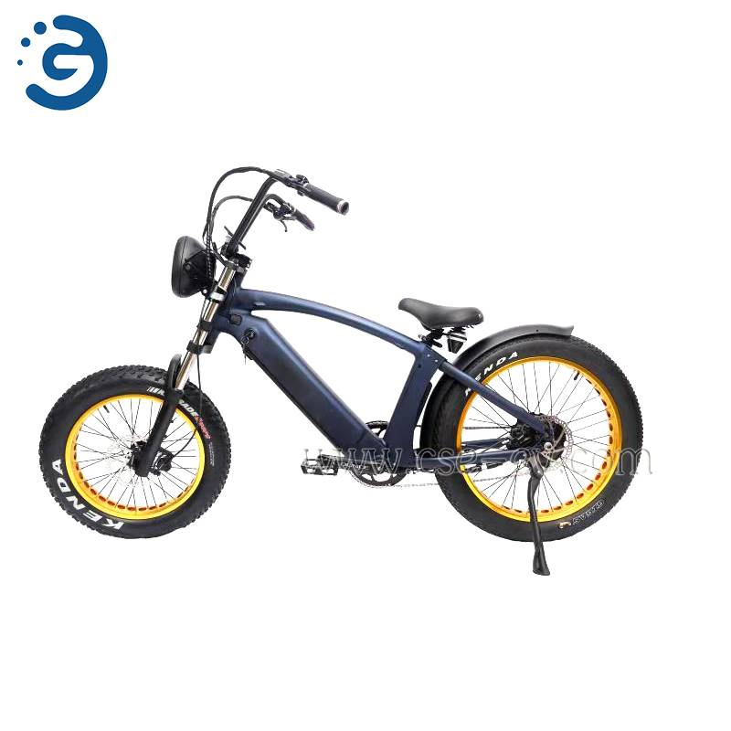 Chinese Factory Hi-Lay I 48V 350W-750W REAR-DRIVE Fat Tyres Electric Bike Featured Image
