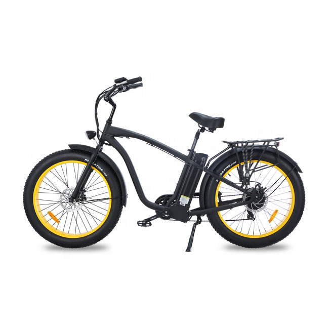 "Hummer Beach Cruiser Type 26"" Fat E-bike for men mountain bicycle Featured Image"