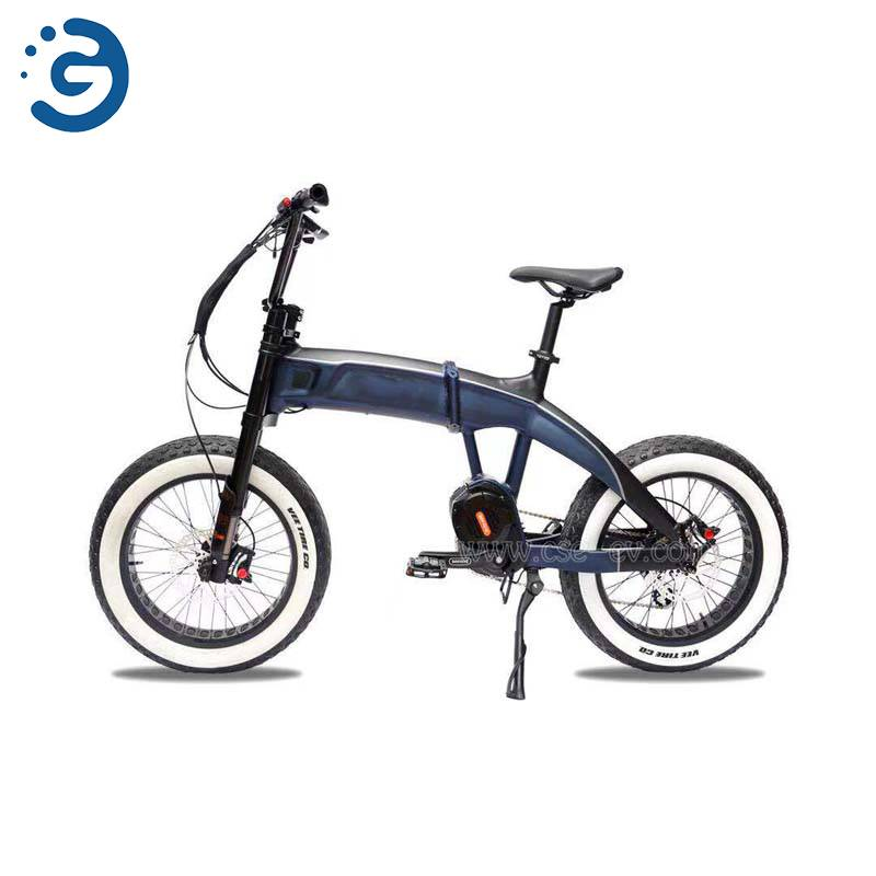 Chinese Factory Leopard II 48V 350W-1000W MID-DRIVE Fat Tyres Electric Bike Featured Image