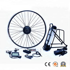 36V 250W Electric Bike Motor Wheel Conversion Kit with Lithium Battery