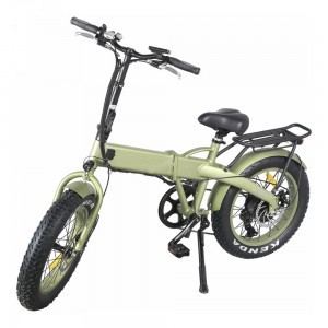 "Fat E-bike \ Rifle 20 ""Battery Skryté skládací Fat E-bike"