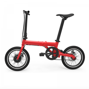 "Q1 16"" Small Protable Folding E-bike"