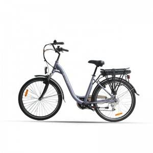 "26"" 250W Rear-Drive Motor City E-bike Cheap Electric Chopper Bike"