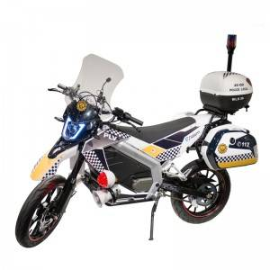 EEC On-road Police Version Electric Motorcycle ES1
