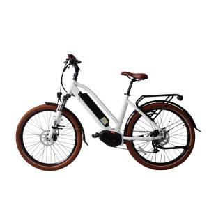 700C-28Inch City  Electric Bicycle 350W-750W Mid Drive