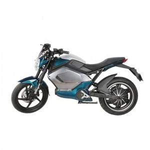 SOKU 17inch 5000W Electric Motorcycle with 40AH Battery Double Disc Brake Adult Motorbike Racing