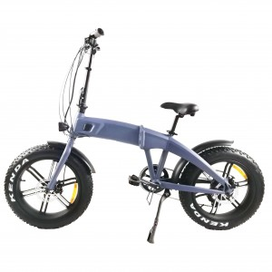"Leopard 20"" Folding Fat tyre E-bike Hot sales"