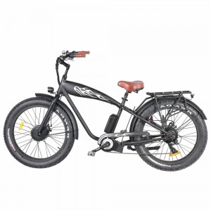 "26"" Hummer Tank Beach Cruiser Type Fat Tyres Electric Bicycle 250W-1000W"
