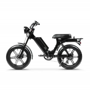 Kāhua E-Bike a Socool 750W Moped