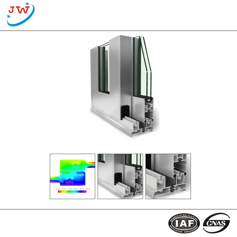 Cheap price Double Glazed Aluminum Windows With Grills -