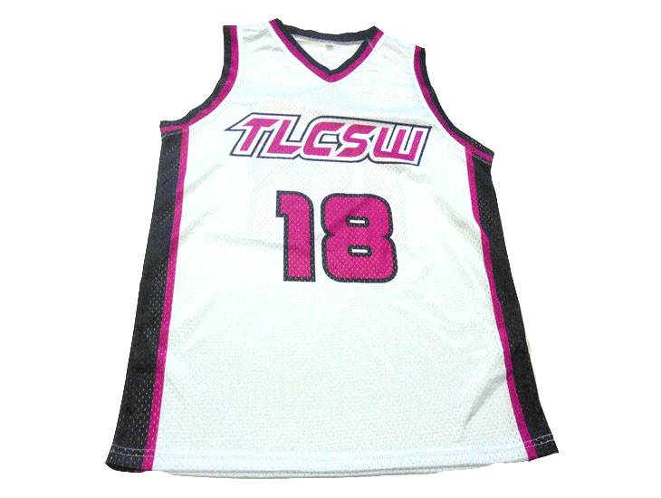 Custom design Basketball Jersey pink Featured Image