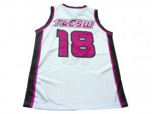 Custom design Basketball Jersey pink