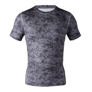 custom made perfermance spandex sport t hemp fiksheid kompressie hemp