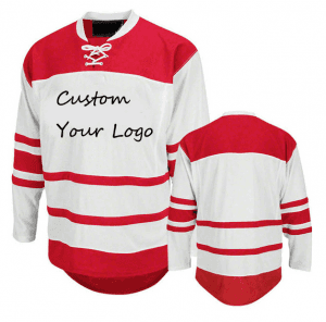 team wear breathable sublimated custom made ice hockey jerseys
