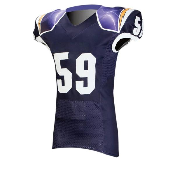 custom sublimation printed american football jersey Featured Image