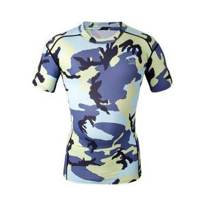 wholesale custom sublimated promotional compressed t shirts