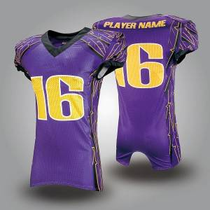 sublimation custom made youth american football team uniformsam american football jersey