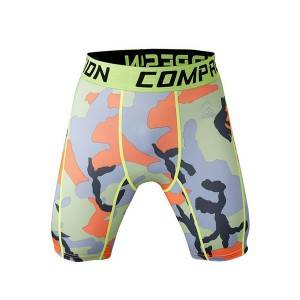 Shumicë High Quality Sportive Custom Compression Shorts