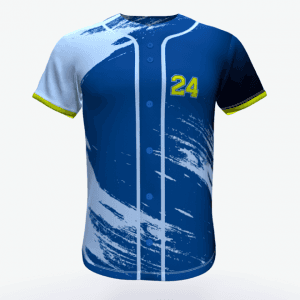 newest high quality sublimation printing dry fit custom baseball jerseys