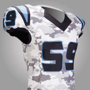 sublimated american football jersey with custom name and numbers
