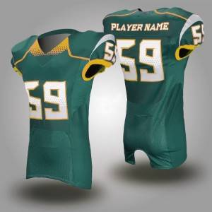 اپنی مرضی پر sublimated امریکی فٹ بال jerseys کی صنعت کار