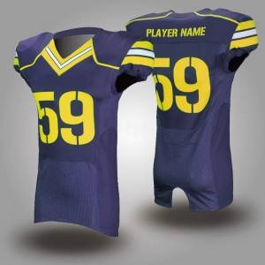 wholesale customized sublimation printed american football jerseys