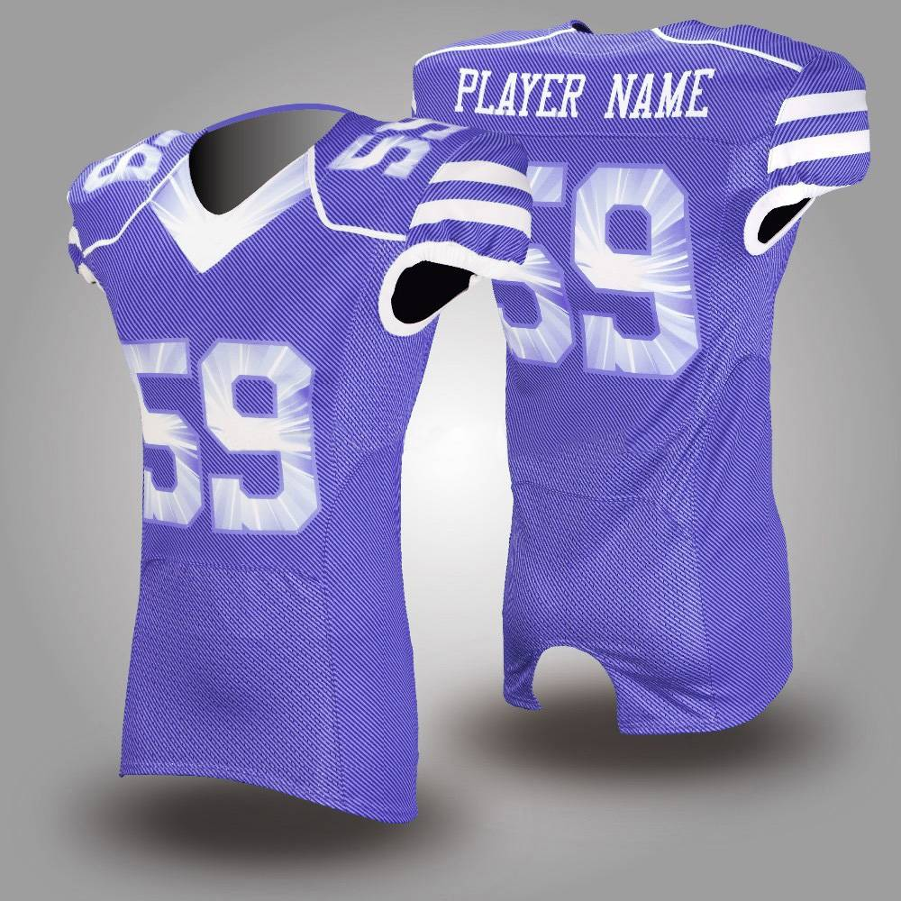 fashion customized sublimation american football jerseys uniforms Featured Image