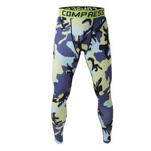 sportswear custom na tumatakbo pampitis compression tights