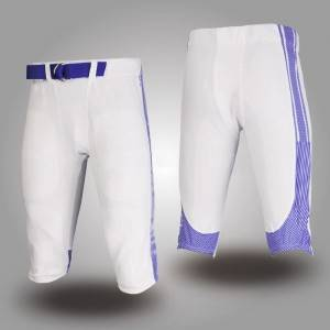 custom you own design sublimated american football shorts