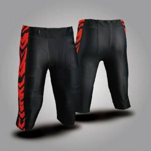 design your own sublimated american football shorts