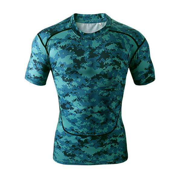 spandex sublimation custom made camo compression shirts Featured Image
