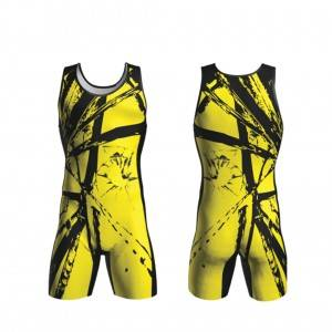 Wholesale OEM sublimation hatisitsoeng banna kampana singlet