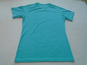175gsm 95% cotton with 5% cottonscreen printing tshirts