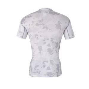 High quality polyester custom sublimated compression shirt