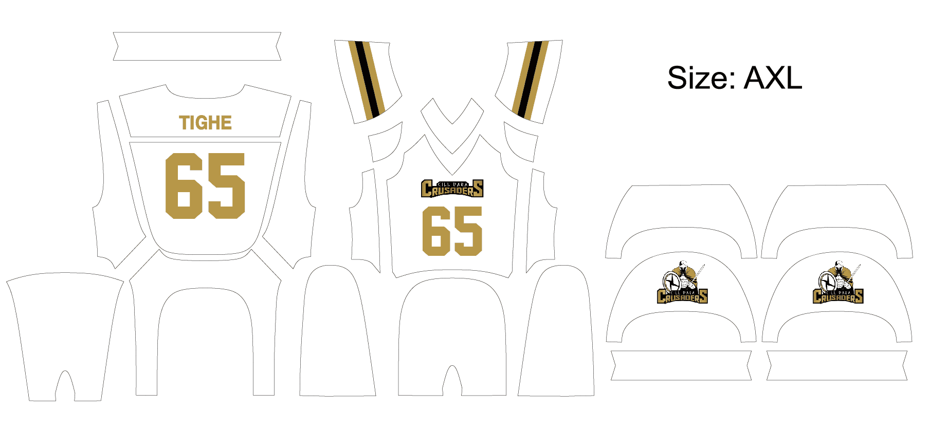 american-football jersey-design -layout