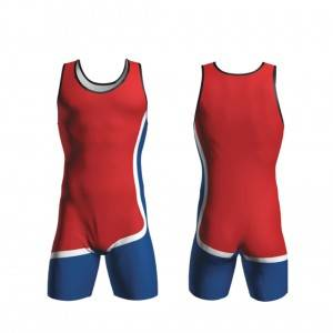 High Quality Custom Printed Wrestling Singlets