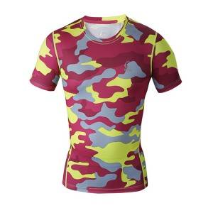 the newest sports men's gift t shirts dryfit compression t shirts