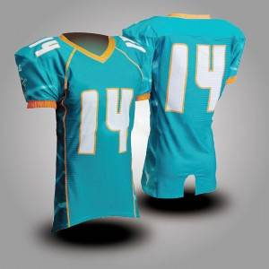 dry fit sports shirt customized american football training jersey