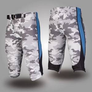 custom sublimation printed american football shorts