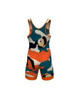 sublimation low cut custom wrestling singlet