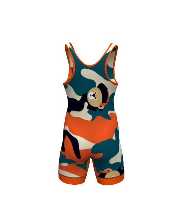 sublimation low cut custom wrestling singlet Featured Image